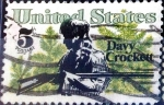 Stamps : America : United_States :  Intercambio js 0,20 usd 5 cent. 1967