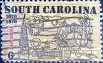 Sellos de America - Estados Unidos -  Intercambio 0,20 usd 6 cent. 1970