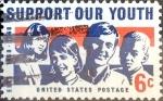 Sellos de America - Estados Unidos -  Intercambio 0,20 usd 6 cent. 1968