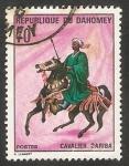 Stamps : Africa : Benin :  Jinete Bariba