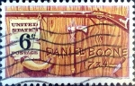 Stamps United States -  Intercambio 0,20 usd 6 cent. 1968