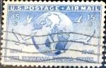 Sellos del Mundo : America : Estados_Unidos :  Intercambio hbr 0,25 usd 15 cent. 1949