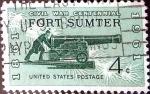 Sellos de America - Estados Unidos -  Intercambio 0,20 usd 4 cent. 1961
