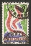 Sellos de Africa - Costa de Marfil -  Fauna marina, hermodice carnuculota