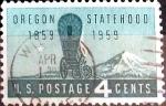 Sellos de America - Estados Unidos -  Intercambio 0,20 usd 4 cent. 1959