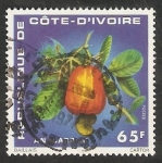 Stamps Ivory Coast -  Anacardo