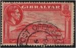 Sellos de Europa - Gibraltar -  Vista del Pe��n