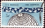 Stamps United States -  Intercambio 0,20 usd 5 cent. 1963