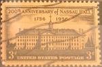 Sellos de America - Estados Unidos -  Intercambio 0,20 usd 3 cent. 1956