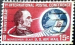 Stamps United States -  Intercambio 0,55 usd 15 cent. 1963