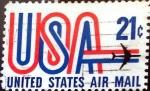 Sellos de America - Estados Unidos -  Intercambio 0,20 usd 21 cent. 1971