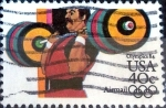 Stamps United States -  Intercambio 0,40 usd 40 cent. 1983