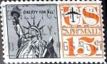 Sellos de America - Estados Unidos -  Intercambio 0,20 usd 15 cent. 1961