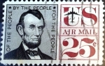 Stamps United States -  Intercambio 0,20 usd 25 cent. 1960