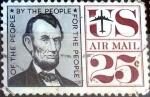Sellos de America - Estados Unidos -  Intercambio 0,20 usd 25 cent. 1960