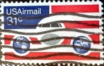 Stamps United States -  Intercambio 0,20 usd 31 cent. 1976