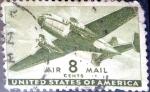 Sellos de America - Estados Unidos -  Intercambio 0,20 usd 8 cent. 1944