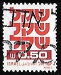 Sellos de Asia - Israel -  Israel-cambio