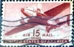 Sellos de America - Estados Unidos -  Intercambio 0,35 usd 15 cent. 1941