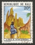 Stamps : Africa : Mali :  Paisaje, La Mano de Fátima