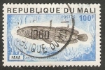 Stamps : Africa : Mali :  Pez heterotis niloticus