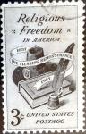 Sellos de America - Estados Unidos -  Intercambio 0,20 usd 3 cent. 1957