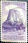 Stamps United States -  Intercambio 0,20 usd 3 cent. 1956