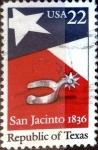Sellos de America - Estados Unidos -  Intercambio 0,20 usd 22 cent. 1986
