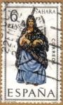 Stamps Europe - Spain -  SAHARA - Trajes tipicos españoles