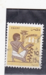 Sellos de Africa - Egipto -  ilustracion