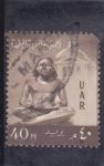 Sellos de Africa - Egipto -  escriba sentado
