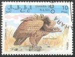 Sellos de Asia - Arabia Saudita -  Gyps rueppellii-buitre moteado