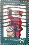 Sellos de America - Estados Unidos -  Intercambio 0,20 usd 8 cent. 1972