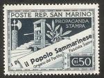 Sellos de Europa - San Marino -  Prensa