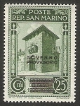 Stamps : Europe : San_Marino :  Puerta Saint Francois