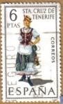 Stamps Europe - Spain -  STA. CRUZ DE TENERIFE - Trajes tipicos españoles