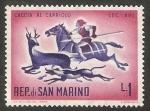 Sellos de Europa - San Marino -  Historia de la caza