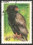 Sellos del Mundo : Africa : Tanzania : Terathopius ecaudatus-águila volatinera