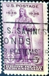 Stamps United States -  Intercambio 0,20 usd 3 cent. 1936