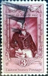 Stamps United States -  Intercambio 0,20 usd 3 cent. 1957