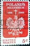 Sellos de America - Estados Unidos -  Intercambio 0,20 usd 5 cent. 1966