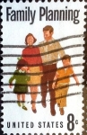 Stamps United States -  Intercambio 0,20 usd 8 cent. 1972