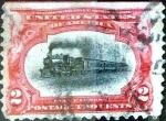 Sellos de America - Estados Unidos -  Intercambio 1,00 usd 2 cent. 1901
