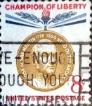 Stamps United States -  Intercambio 0,20 usd 8 cent. 1959