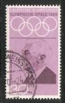 Sellos de Europa - Alemania -  Juegos Olímpicos de Verano de 1968