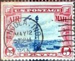 Sellos de America - Estados Unidos -  Intercambio 0,75 usd 5 cent. 1928
