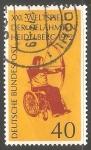 Sellos de Europa - Alemania -  XXI. Juegos Mundiales del paralítico en Heidelberg 1972