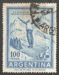 Stamps Argentina -  Deportes de Invierno