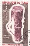 Stamps Chad -  tambor
