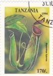 Sellos de Africa - Tanzania -  flores